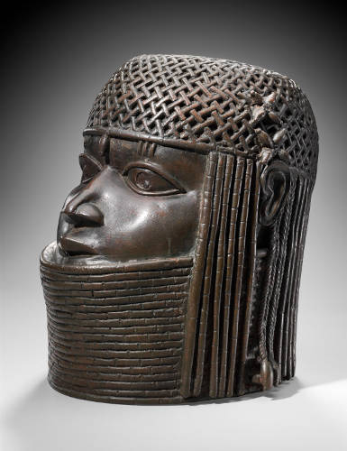 Commemorative head of an Oba (king) of Benin Kingdom