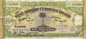 Colonial currency of West Africa