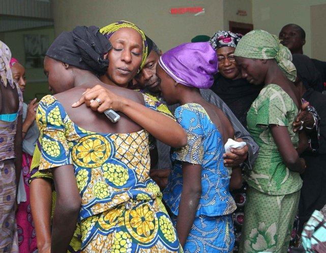 chibok-girls-release