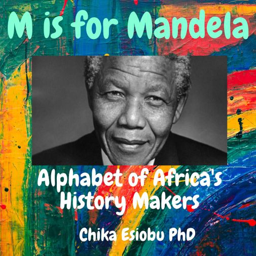 Ebook Book cover M is for Mandela